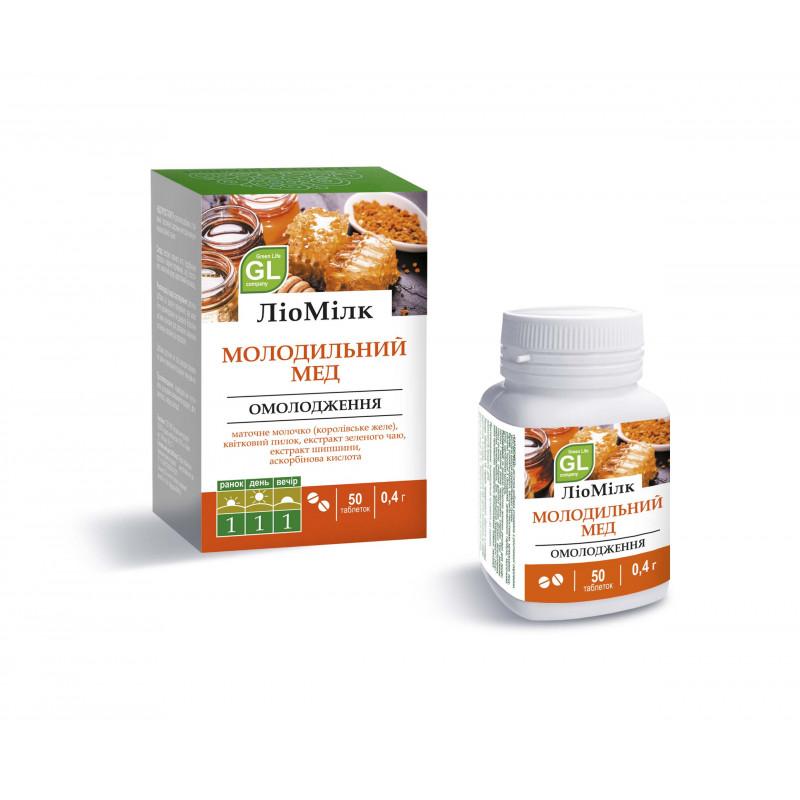 Минерально-витаминный комплекс Молодильный мед ЛиоМилк